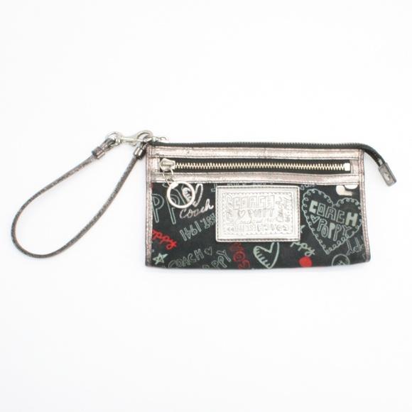 Coach Handbags - Coach Poppy Wristlet